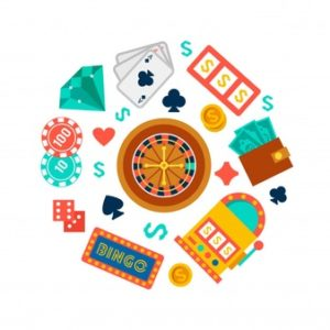 casino and poker elements